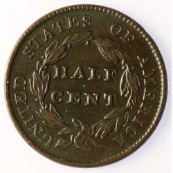 View 2: 1828 Half Cent