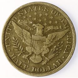 View 2: 1902 Barber Half Dollar