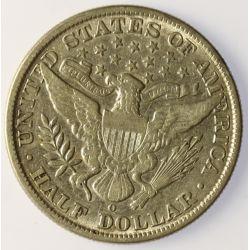 View 2: 1909-O Barber Half Dollar