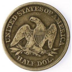 View 2: 1854 Seated Half Dollar