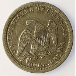 View 2: 1854 Seated Quarter