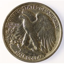 View 2: 1937-S Walking Liberty Half Dollar