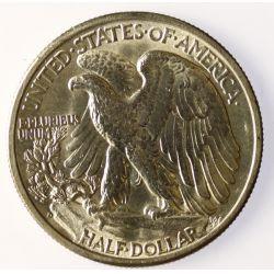 View 2: 1941-D Walking Liberty Half Dollar