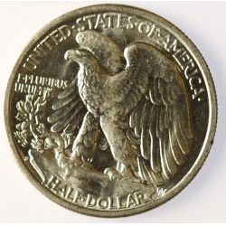 View 2: 1941-S Walking Liberty Half Dollar