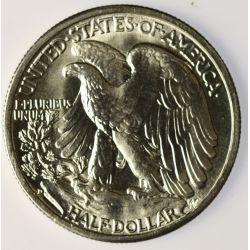 View 2: 1942-D Walking Liberty Half Dollar