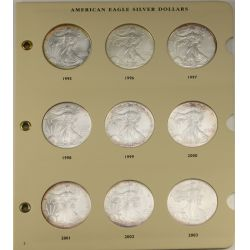 View 2: American Eagle Silver Dollars 1986-2006