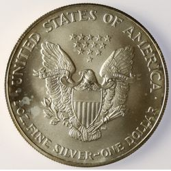 View 2: 2005 American Eagle Silver Dollar