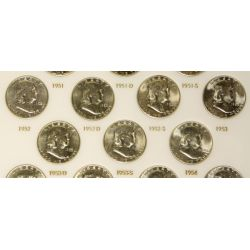 View 4: Franklin Half Dollars Complete Set (1948-1963)