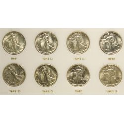 View 3: Walking Liberty Half Dollars Set (1941-1947)