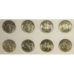 View 4: Walking Liberty Half Dollars Set (1941-1947)