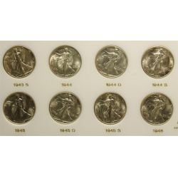 View 5: Walking Liberty Half Dollars Set (1941-1947)