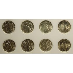 View 6: Walking Liberty Half Dollars Set (1941-1947)
