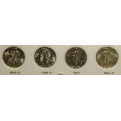 View 7: Walking Liberty Half Dollars Set (1941-1947)