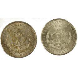 View 2: 1899-O & 1900-O Morgan Silver Dollars
