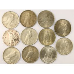 View 2: 1922 Peace Silver Dollars (11pcs.)