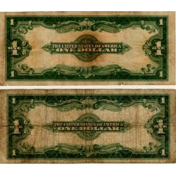 View 2: 1923 $1 Large Notes (2pcs.)