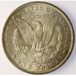 View 2: 1879-S Morgan Silver Dollar