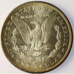 View 2: 1881-S Morgan Silver Dollar
