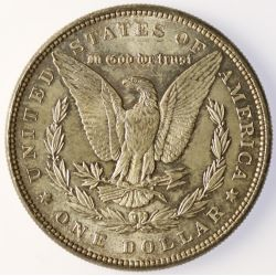 View 2: 1887 Morgan Silver Dollar
