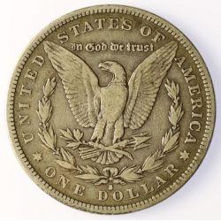 View 2: 1882-S Morgan Silver Dollar