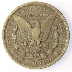 View 2: 1891-O Morgan Silver Dollar