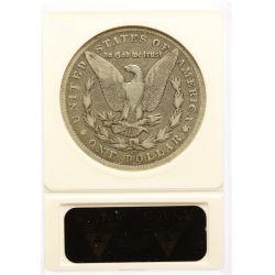 View 2: 1892-CC Morgan Silver Dollar F-12 (ANACS)