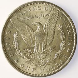 View 2: 1899-O Morgan Silver Dollar