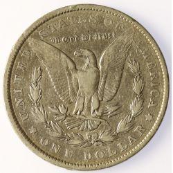 View 2: 1901-P Morgan Silver Dollar