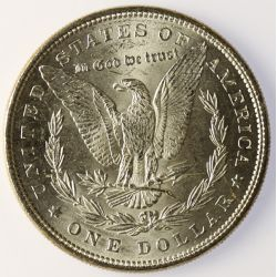 View 2: 1885 Morgan Silver Dollar