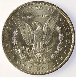 View 2: 1883-O Morgan Silver Dollar- Bright White Original!