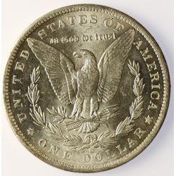 View 4: 1883-O Morgan Silver Dollar- Bright White Original!