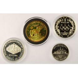 View 2: Silver Proof Coin Lot (4pcs.)