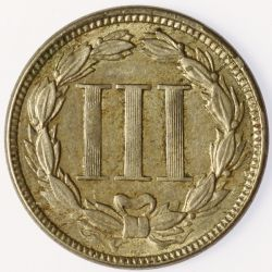 View 2: 1865 3-Cent