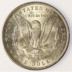 View 2: 1900 Morgan Dollar