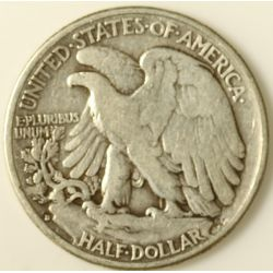 View 2: 1938-D Walking Liberty Half Dollar