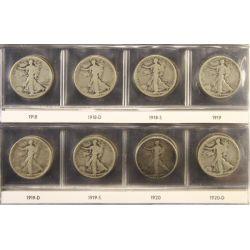 View 14: Walking Liberty Half Dollars (1916-1947 Complete Set)