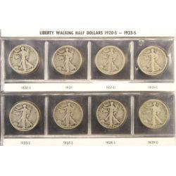 View 15: Walking Liberty Half Dollars (1916-1947 Complete Set)