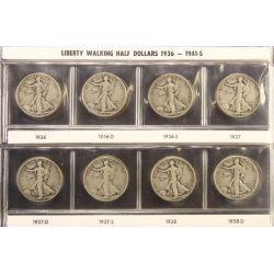 View 17: Walking Liberty Half Dollars (1916-1947 Complete Set)