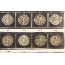 View 18: Walking Liberty Half Dollars (1916-1947 Complete Set)