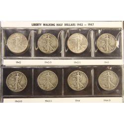 View 19: Walking Liberty Half Dollars (1916-1947 Complete Set)