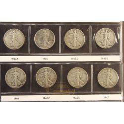 View 20: Walking Liberty Half Dollars (1916-1947 Complete Set)