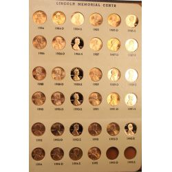 View 7: Lincoln Cent Collection (1909-1994)