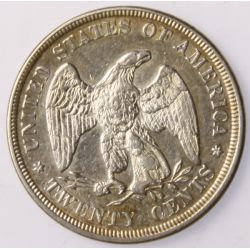 View 2: 1876 20-Cent