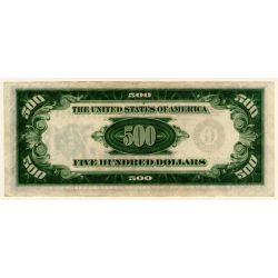 View 2: 1934 $500 Federal Reserve Note (Chicago)