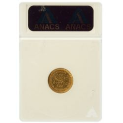 View 2: 1903 $1 Louisiana Purchase Gold MS-60 Details (ANACS)