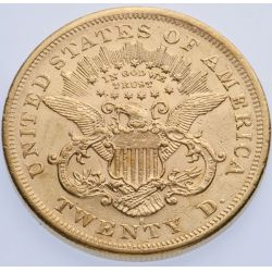 View 2: 1876-S $20 Gold