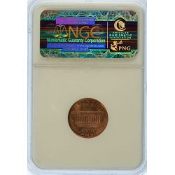 View 2: 1995 Doubled Die Lincoln Cent MS-66 RD (NGC)
