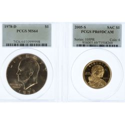View 2: Graded Coin Collection (4pcs.)