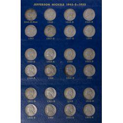 View 2: Jefferson Nickel Book (1938-1964)