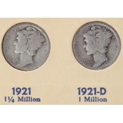 View 4: Mercury Dime Book (1916-1945)